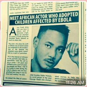 Frank Artus, a True Son Of Liberia