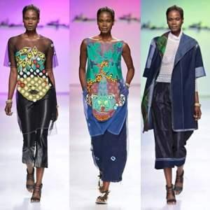 Liberian Top Model Gramai Klee Rocked the runway last night at Mercedes Benz Capetown Fashion Week.