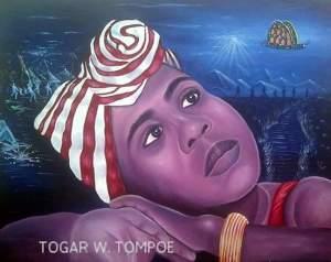Amazing Art by LIB Talent Togar W. Tompoe.
