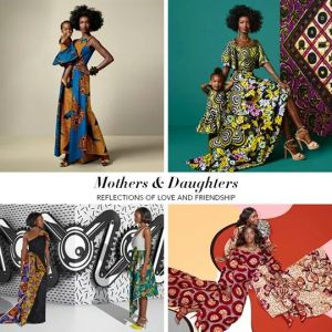 Vlisco Mother and Daughter Collection